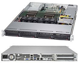 Brand new Supermicro 1U Barebone SuperServer 6018R-TDW with full warranty