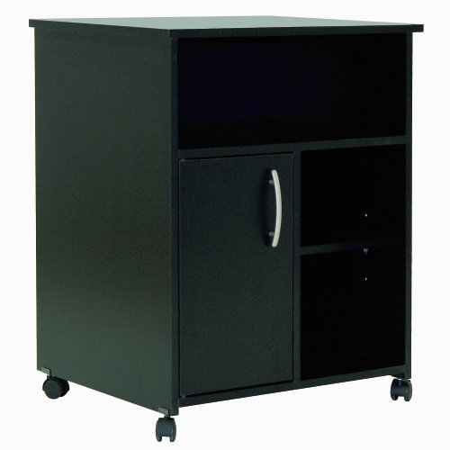 South Shore Axess Collection Printer Stand, Pure Black (Cpu Cabinet compare prices)