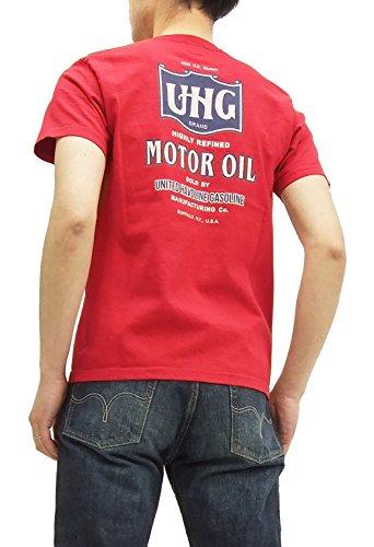(フェローズ) Pherrows Tシャツ 15S-PT4 Pherrow's UHG メンズ 半袖tee S.レッド (M)