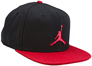 nike casquette jordan jumpman true snapback noir noir rouge blanc taille unique. Black Bedroom Furniture Sets. Home Design Ideas