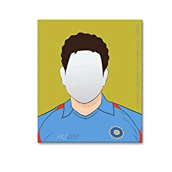 PoppadumArt Be who you want to be - Sachin Mirror