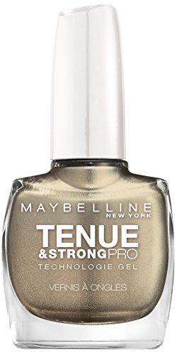 Gemey-Maybelline - Manutenzione e forte pro - Nail Polish Gray - 735 d'oro durante la notte