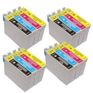 T 715 - 4 sets of 4 Mehrfachpackung Epson kompatible DruckerpatronenCapacity Inks - T715 T891 T892 T893 T894 T895 T711 T712 T713 T714 T715 (Contains 4x : T711 T712 T713 T714) - Cyan / Magenta / gelb / Schwarz - Mehrfachpackung