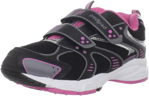 Buy pediped Flex Venus Sneaker (Toddler/Little Kid),Black Azalea,29 EU (12-12.5 E US Little Kid)