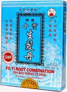 Fo Ti Root Combination (Shi Bao Sheng Fa Da) 12 Box