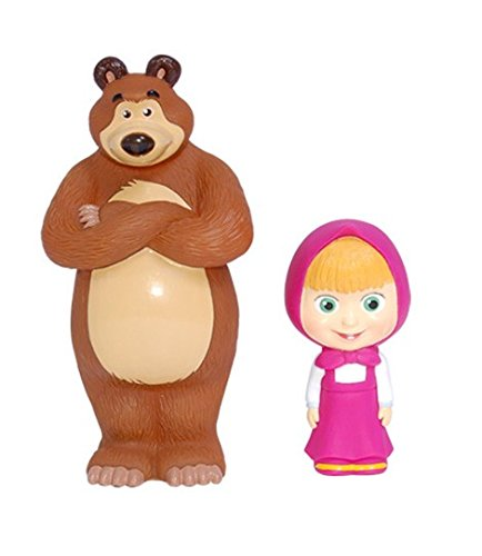 "Masha and the Bear Bath Toy Set (5.5"") - 1"
