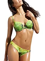 Esotiq Braguita de Bikini Bafina (Amarillo / Verde)