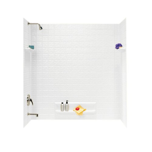 Check Out This Swanstone TI-5-010 Veritek Five Panel Tub Wall Kit, White Finish