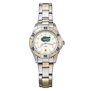 NCAA Florida Gators Ladies All-Pro Two-Tone Watch by Logo Art