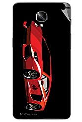 Miicreations Mobile Skin Sticker For OnePlus 3,Car