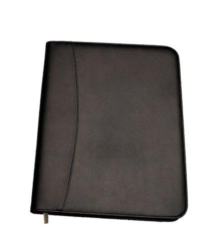 Cathedral - Portadocumenti in formato A4 con chiusura a zip, colore nero