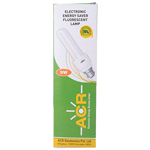 CFL Bulb 9 Watt (White)