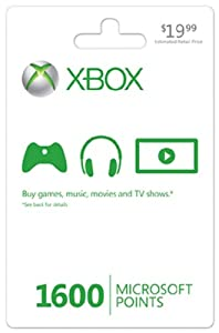 Xbox LIVE 1600 Microsoft Points [Online Game Code] by Microsoft