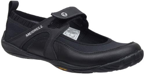 MERRELL PURE GLOVE BLACK WOMENS SLIP ON Size 9 M