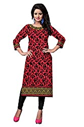 Riddhi Dresses Women's Cotton Unstitched Dress Material (Riddhi Dresses 33_Multi Coloured_Free Size)