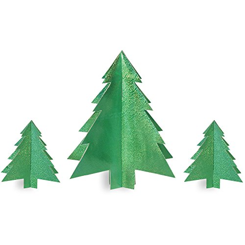 Christmas Trees 3D Centerpiece Set - 1