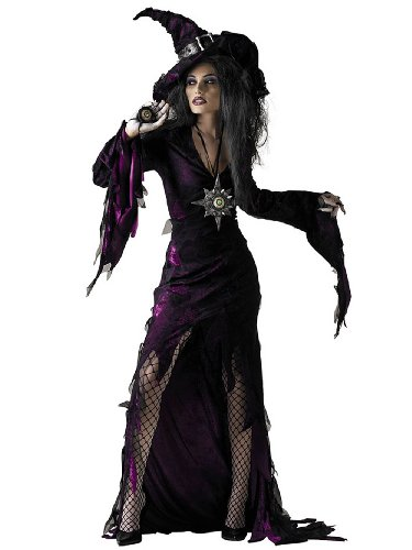 Sorceress Sexy Evil Classic Witch Adult Theatre Costumes