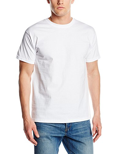 fruit-of-the-loom-ss021m-t-shirt-homme-blanc-blanc-moyen