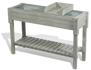 Esschert Design Secrets du Potager Kitchen Garden Table, Grey