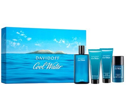 Cool Water For Men By Davidoff Gift Set (Davidoff Cool Water Gift Set compare prices)