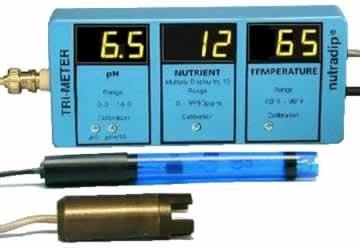 ND1100042 Nutra-Dip continuous Tri meter (pH