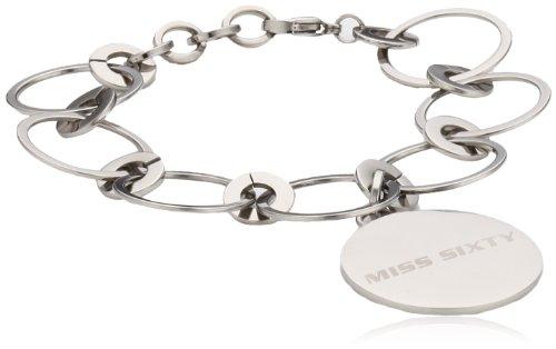 Miss Sixty bracciale da donna in acciaio inox Divine argento SMZM04