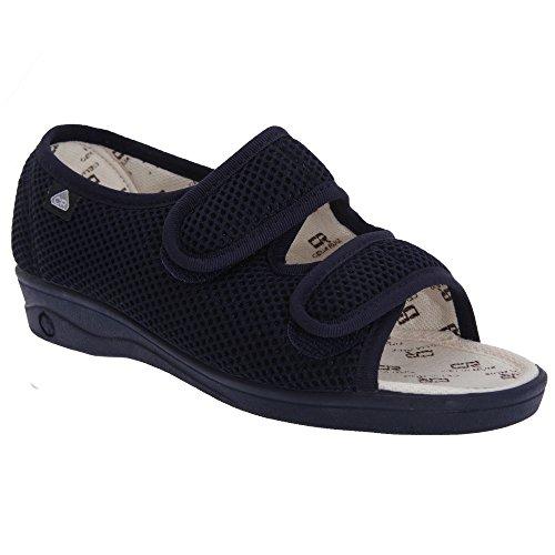 celia-ruiz-scarpe-larghe-con-chiusura-a-strappo-donna-38-eur-blu-navy