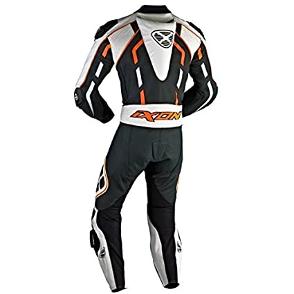 Combinaison IXON PULSAR AIR - 2XL - NOIR/BLANC/ORANGE VIF -