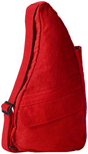 ameribag-classic-distressed-nylon-healthy-back-bag-tote-x-smallcrimsonone-size