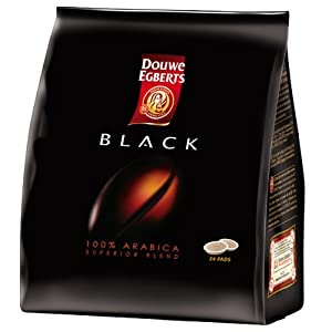 Douwe Egberts Senseo Coffee Pods Black Superior Blend (24 Coffee Pods)