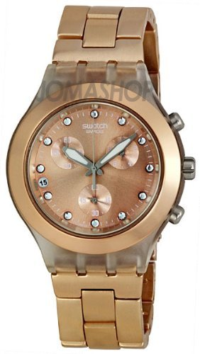 Swatch Full Blooded Brown Unisex Watch SVCK4047AG