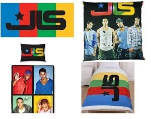 Set of 4 Official Licensed JLS Jukebox Single Duvet, Fleece, Cushion, Towel.