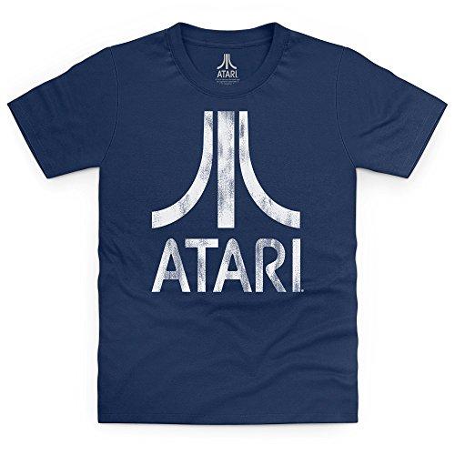 official-atari-logo-t-shirt-bimbi-bimbi-blu-navy-m
