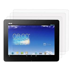 3x kwmobile® film de protection pour écran Asus Memo Pad FHD 10 ME302C TRANSPARENT. Qualité supérieure