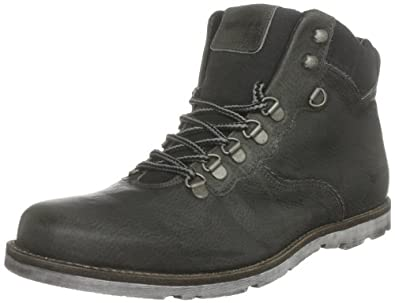 Gas Footwear Menu0026#39;s Lincoln Dark Gray Lace Up Boot M20000171 7 UK Amazon.co.uk Shoes U0026 Bags
