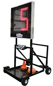 All American Scoreboards Portable LED Delay of Game Timer w  Cart