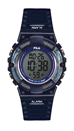 Fila unisex de pulsera reloj digital cuarzo 38-097-004filactive Azul Plástico