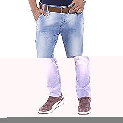 URBAN FAITH Casual narrow botton blue Jeans