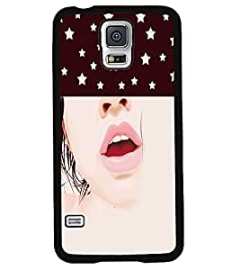 Fuson 2D Printed Girly Designer back case cover for Samsung Galaxy S5 - D4286