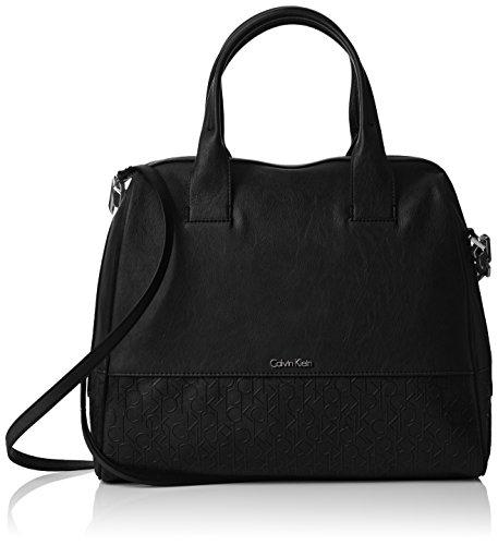 Calvin Klein - MADDIE SATCHEL, Borse da donna, black, OS