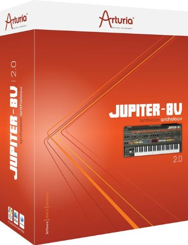 Arturia Jupiter-8V 2.0 Virtual Instrument Software
