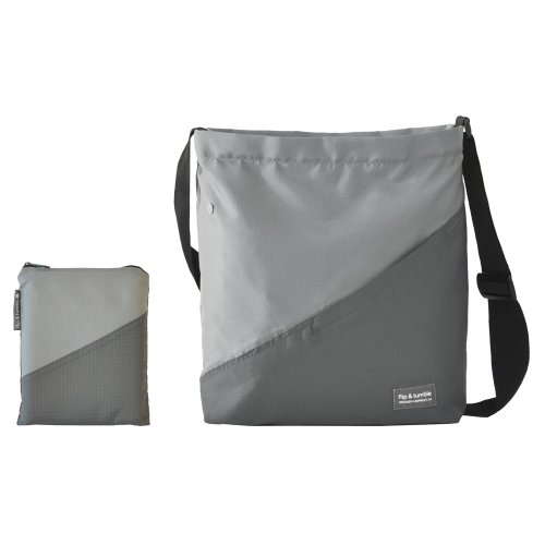 Flip & Tumble Lightweight Travel Bag, Gray/Dark Gray, One Size