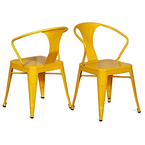Yellow Dining Chairs 6993