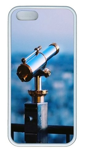 Astronomical Telescope Tpu Silicone Rubber Iphone 5 And Iphone 5S Case Cover - White