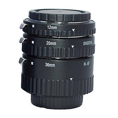 Meike Af Auto Focus Macro Extension Tube Set (Abs) For Nikon D-Slr Camera