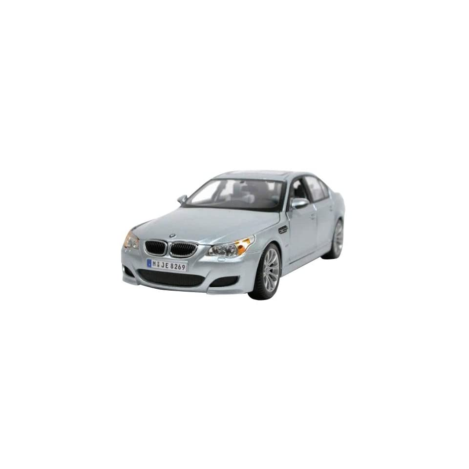 BMW M5 Diecast Car Model 1/18 Orange/Black All Stars Die Cast Car by Maisto