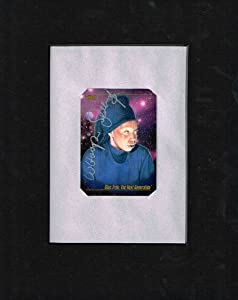 Whoopi Goldberg Autographed Guinan Star Trek TNG Collectable Card