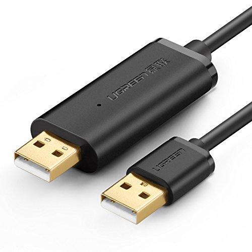 Ugreen Cavo Trasferimento Dati USB 2.0 Link ad Alta Velocità Cavetto Dati da PC a PC, 2m