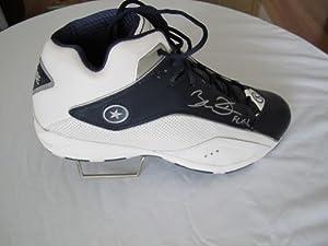 Buy Dwyane Wade HAND SIGNED Autographed Blue Converse Wade Team Shoe Miami Heat - Autographed NBA... by Sports Memorabilia