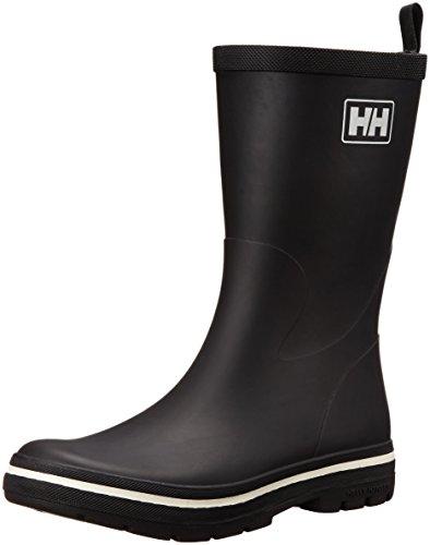 Helly Hansen Midsund 2, Stivali di Gomma Uomo, Nero (Black/Off White), 44 EU